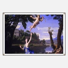 Colombel Cupid and Psyche love peace and jo Banner