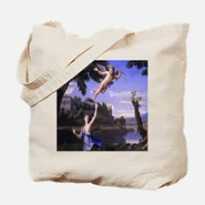 Colombel Cupid and Psyche love peace and  Tote Bag