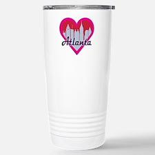 Atlanta Skyline Heart Travel Mug