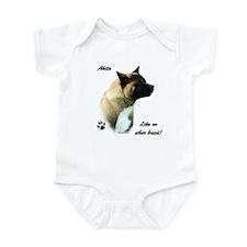 Akita Breed Infant Bodysuit