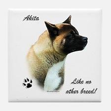 Akita Breed Tile Coaster