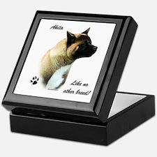 Akita Breed Keepsake Box