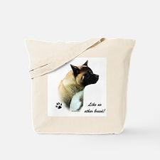 Akita Breed Tote Bag