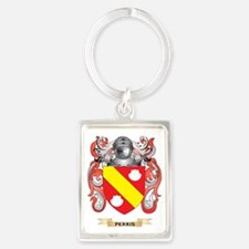 Perris Coat of Arms (Family Cres Portrait Keychain