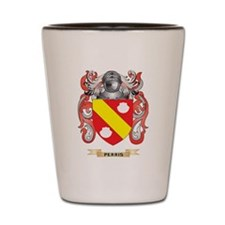 Perris Coat of Arms (Family Crest) Shot Glass