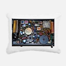 Radio Rectangular Canvas Pillow