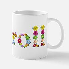 Carroll Bright Flowers Mugs