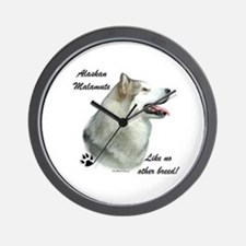 Malamute Breed Wall Clock
