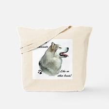 Malamute Breed Tote Bag