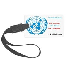 United Nations is immoral Luggage Tag