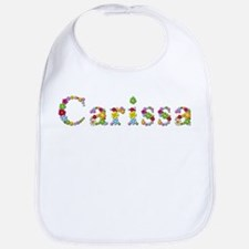 Carissa Bright Flowers Bib