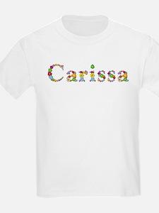 Carissa Bright Flowers T-Shirt