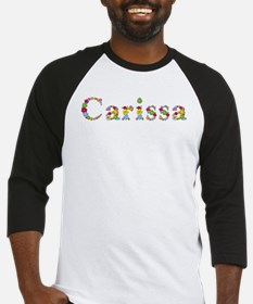 Carissa Bright Flowers Baseball Jersey