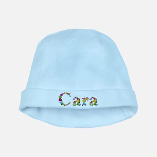 Cara Bright Flowers baby hat