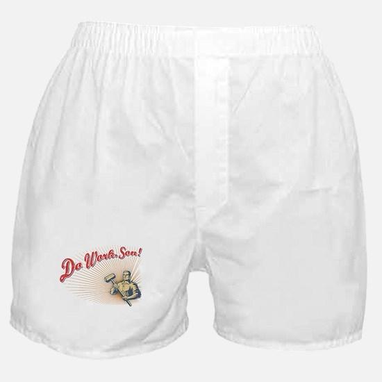 Do Work, Son Boxer Shorts