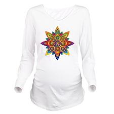 Dmt Eyes Long Sleeve Maternity T-Shirt