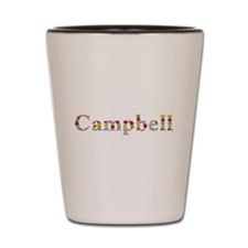 Campbell Bright Flowers Shot Glass