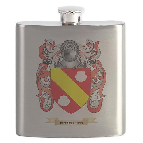 Petrelluzzi Coat of Arms (Family Crest) Flask