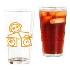 DJMan Drinking Glass