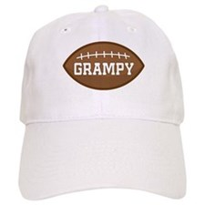 Grampy Football Baseball Cap