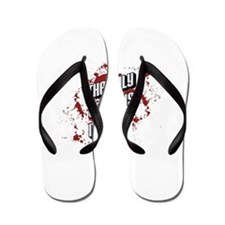 The only truth is music Flip Flops