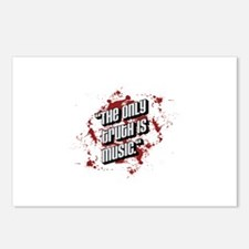 The only truth is music Postcards (Package of 8)