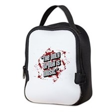 The only truth is music Neoprene Lunch Bag