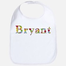 Bryant Bright Flowers Bib
