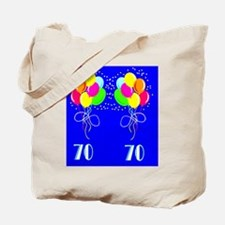TERRIFIC 70TH Tote Bag