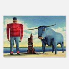 Paul Bunyan Postcards (Package of 8)