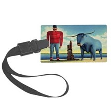 Paul Bunyan Luggage Tag