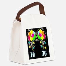 70TH SUPER STAR Canvas Lunch Bag
