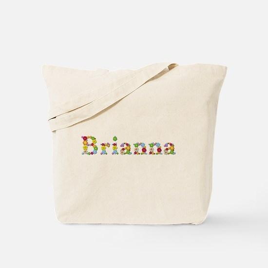 Brianna Bright Flowers Tote Bag