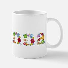 Brianna Bright Flowers Mugs