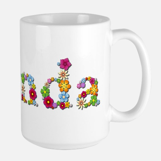 Brenda Bright Flowers Mugs