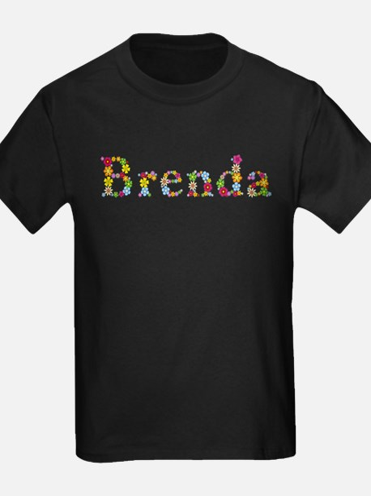 Brenda Bright Flowers T-Shirt