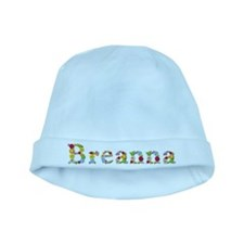 Breanna Bright Flowers baby hat