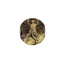 The Great Red Dragon William Blake Mini Button