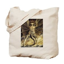 The Great Red Dragon William Blake Tote Bag