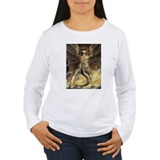 The Great Red Dragon William Blake Long Sleeve T-S