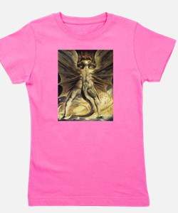 The Great Red Dragon William Blake Girl's Tee