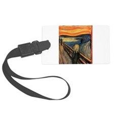 The Scream Edvard Munch Luggage Tag