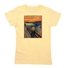 The Scream Edvard Munch Girl's Tee