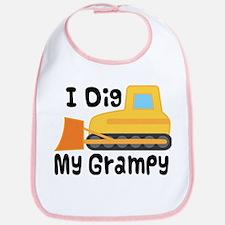 I Dig Grampy Bib
