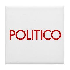 Politico Tile Coaster