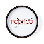 Politico Wall Clock