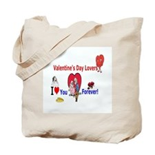 Valentines Day Lovers Tote Bag