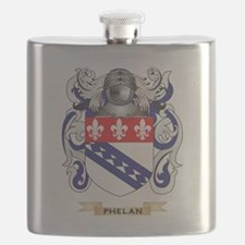 Phelan Coat of Arms (Family Crest) Flask
