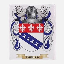 Phelan Coat of Arms (Family Crest) Throw Blanket