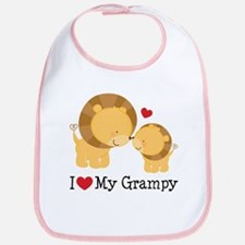 I Love Grampy Bib